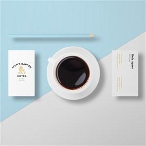 高档酒店咖啡杯样机