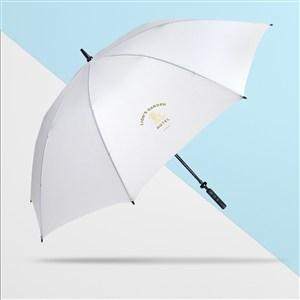 高档酒店品牌vi伞样机模板