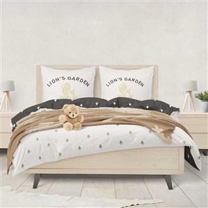 高档酒店品牌vi床单枕头样机模板