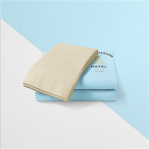高檔酒店品牌vi毛巾樣機模板