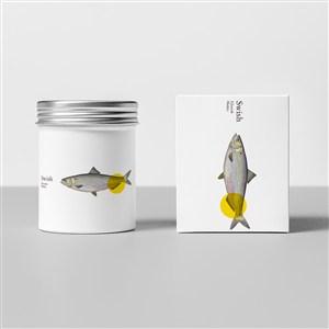 食品罐頭包裝設計模板