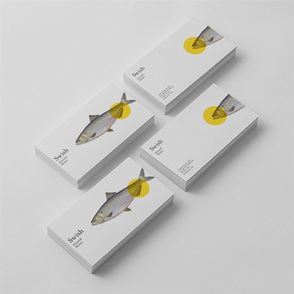 海鲜餐厅名片模板