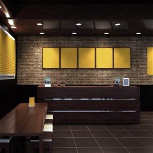 咖啡店水吧裝飾PS樣機模板