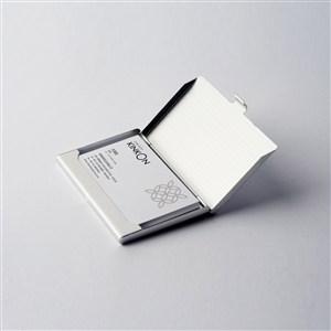 名片盒名片样机模板