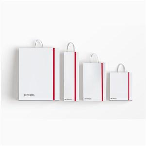 企业手提袋VI样机模板