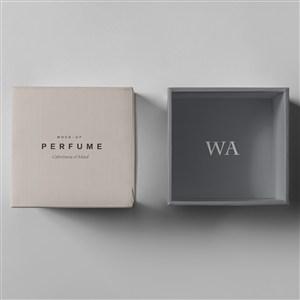 奢侈品珠宝首饰包装盒样机
