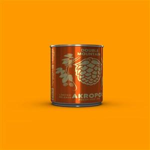 鐵罐包裝設計千圖樣機素材