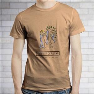 男士文化衫服飾PS樣機模板
