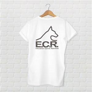 白色T恤文化衫千图样机模板