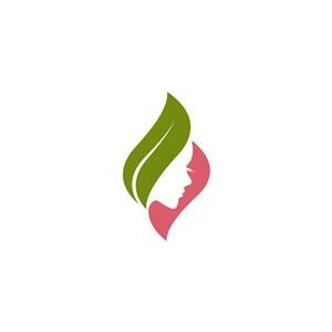 美容护肤矢量logo标志