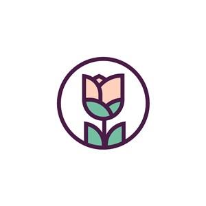 花朵矢量logo素材