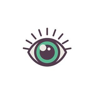 眼睛logo图标