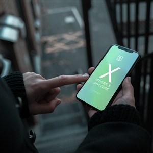 苹果X展示样机