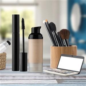 化妆品包装样机组合