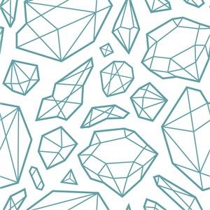 矢量钻石多边形背景素材