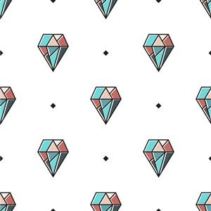 矢量钻石底纹背景