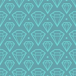 矢量钻石多边形底纹背景