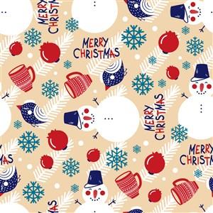 矢量圣诞节底纹素材
