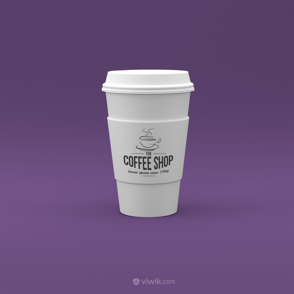 咖啡杯样机模板