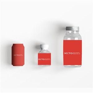 極簡科技公司飲料包裝樣機