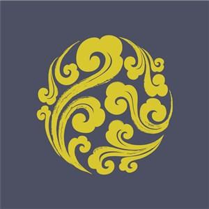 古典中式花紋圖案