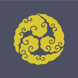 矢量古典花紋圖案