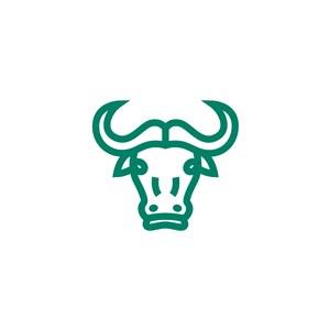 牛矢量logo图标