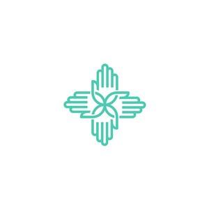 手掌矢量logo元素