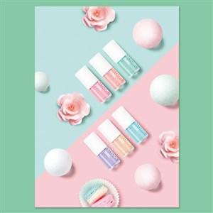 小清新化妆品海报模板