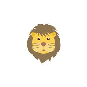 獅子矢量圖標