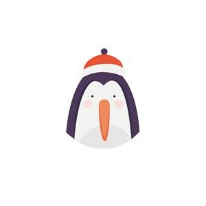 企鹅矢量logo图标