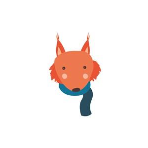 狐狸矢量图标