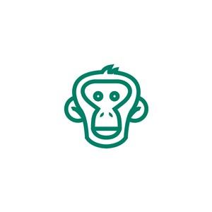 猴子矢量圖標
