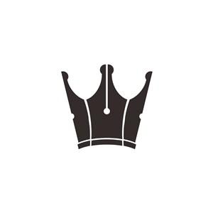 钢笔头矢量logo素材