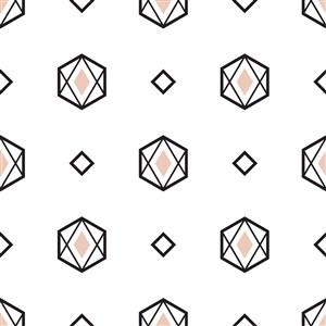 矢量簡約鉆石底紋素材