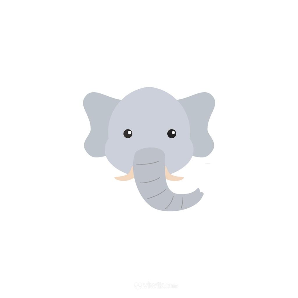大象矢量图标