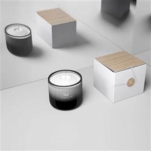 蜡烛产品包装样机
