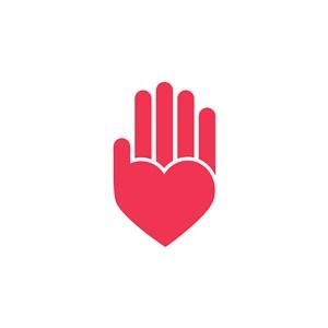 手掌矢量logo素材