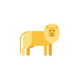 獅子logo素材