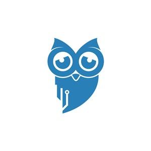 猫头鹰logo素材