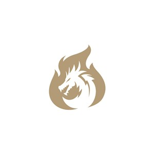 火龍logo素材