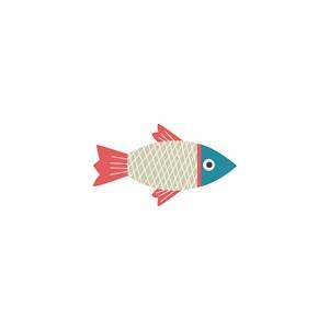 彩色小魚圖標