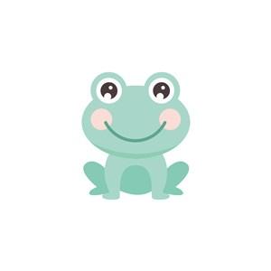 青蛙矢量圖標