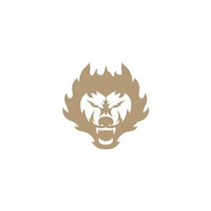 狼logo素材