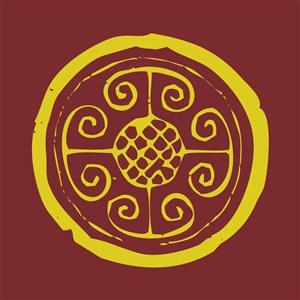中式古典花紋圖案