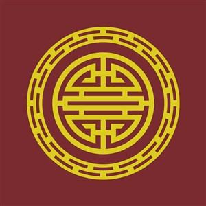 矢量中式古典花纹