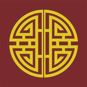 矢量古典中式底紋