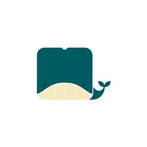 鯨魚logo素材