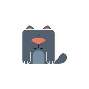 動物logo素材