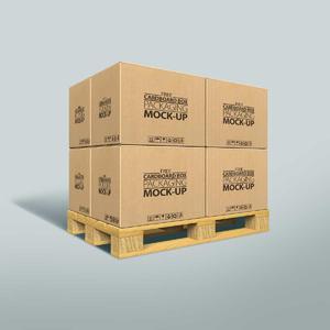 纸箱包装效果图样机